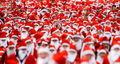Santa Crowd